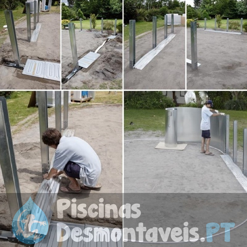 Piscina Enterrada StarPool 350x150 PE3559