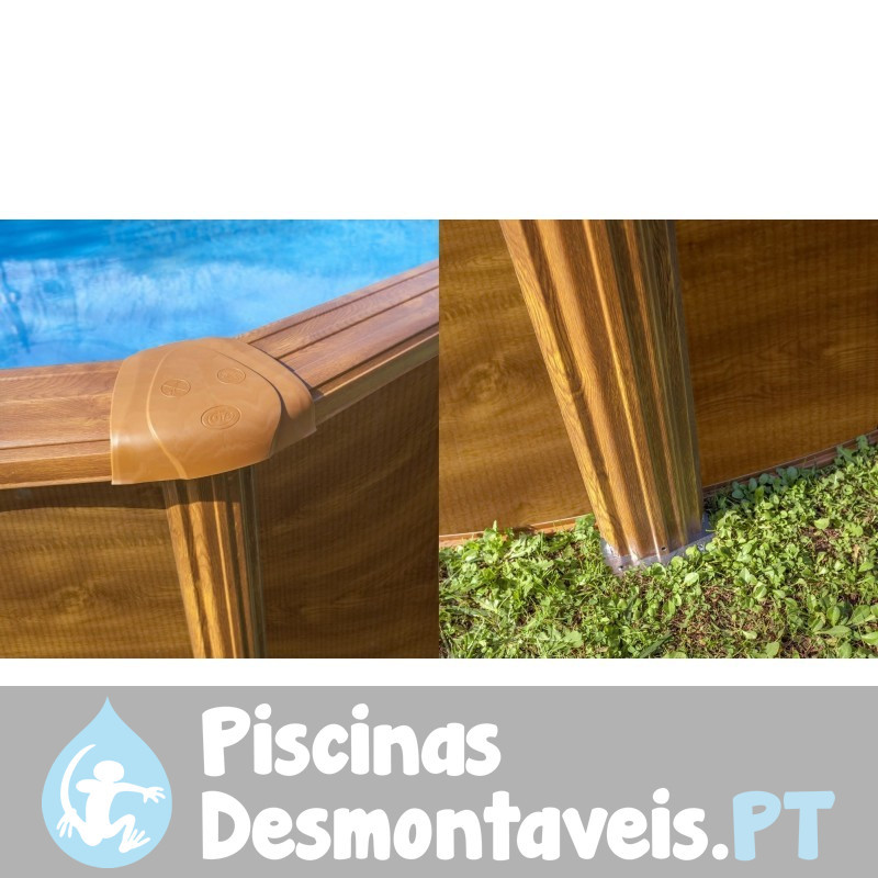 piscina de composite gre 410x124 kpco41. Black Bedroom Furniture Sets. Home Design Ideas