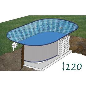 Cerca para piscinas 366x128 Gre 779700