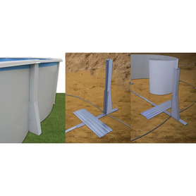 Tubo PVC cinzento semirígido 25 m e 50 mm de diâmetro 40557