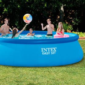 Piscina Intex Prisma Frame Oval 400x200x100 cm 26794NP