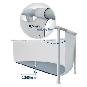 Castelo Saltador Jump-O-Lene Júnior 132x132x107 cm Intex 48257