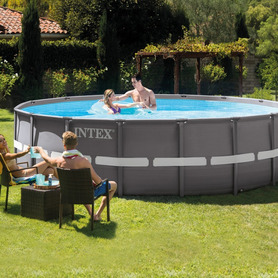 Piscina Easy Set Cars 183x51 cm Intex 28103