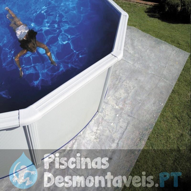 Piscina Gre Pacific 610x375x120 KIT610W