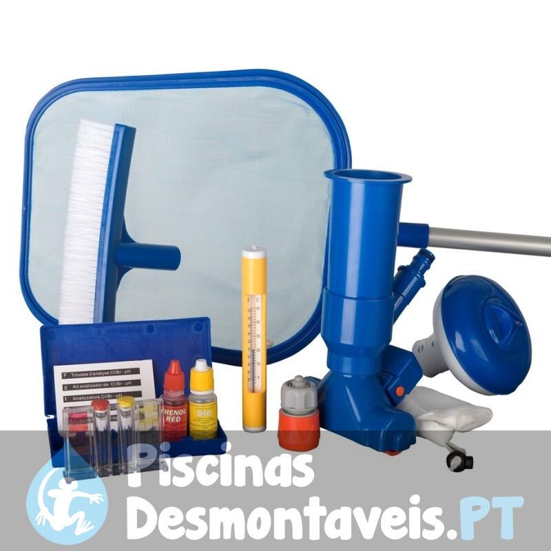 Kit de Limpeza Piscinas Básico Gre AR2064