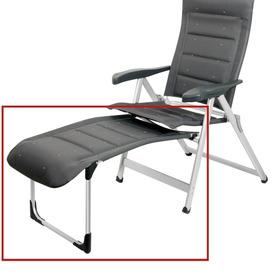 Poltrona Air-Deluxe alumínio com 7 posições compact e assento longo
