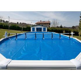 Escada em Aço de Fácil Acesso para Piscina Enterrada EIE30