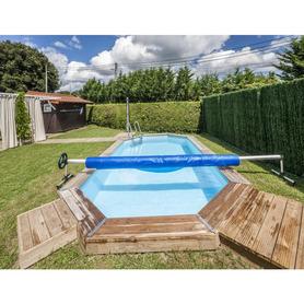 Chuveiro Solar Redondo Partido 20 l PVC Escuro Gre AR1020P