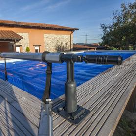 Chuveiro Solar Redondo 20 l PVC Imitação Madeira Gre AR1020W