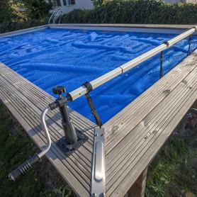 Chuveiro Solar Curvado 20 l PVC Escuro Gre AR10250