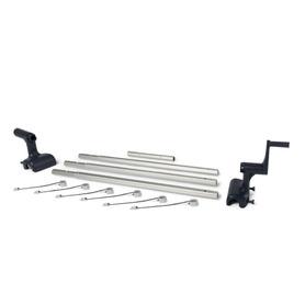 Chuveiro Solar Redondo 38 l PVC Escuro Gre AR1035
