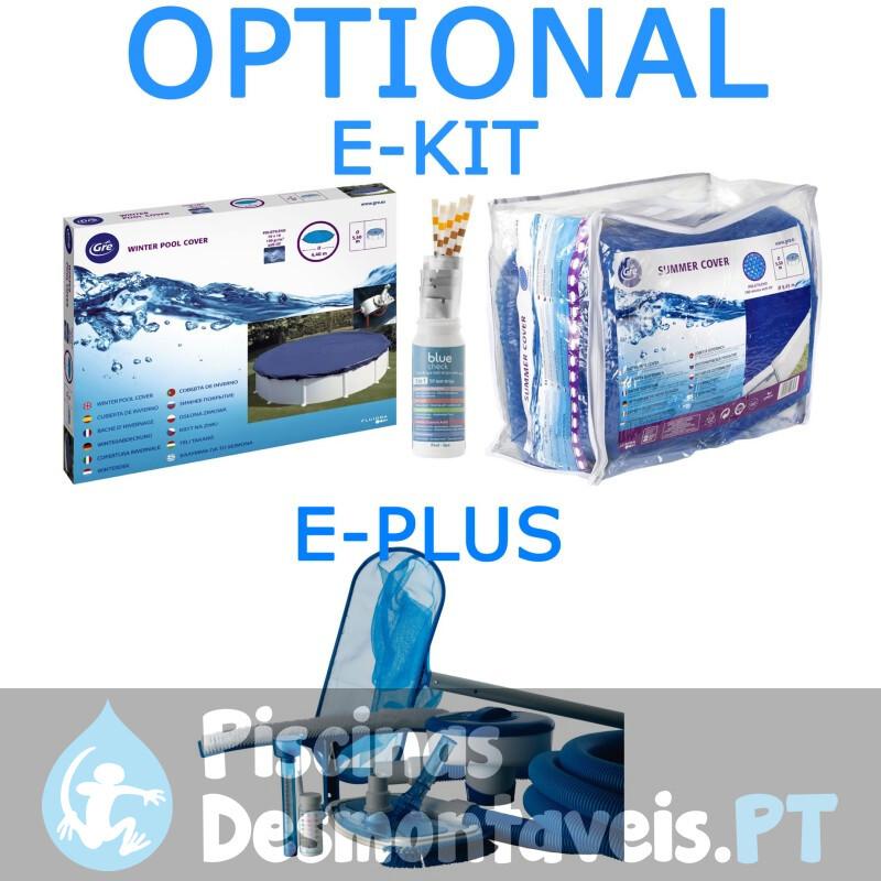 Piscina Gre Córcega 460x132 KITPR458PO