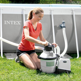 Enrolador de Cobertura Solar para Piscinas Intex 28051