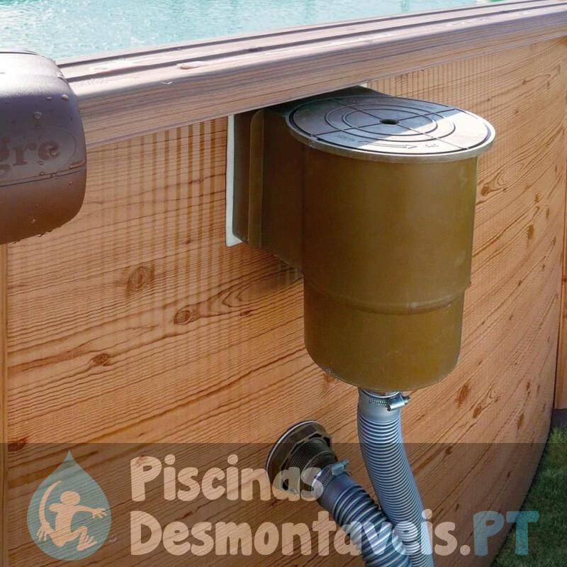 Piscina Gre Cerdeña 730x375x120 KIT730PO