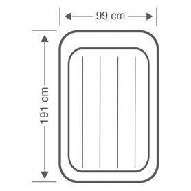 Cadeira de praia alta de nytexline com asa incorporada