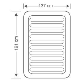 Cadeira de praia com 7 posições de multifibra e asa incorporada