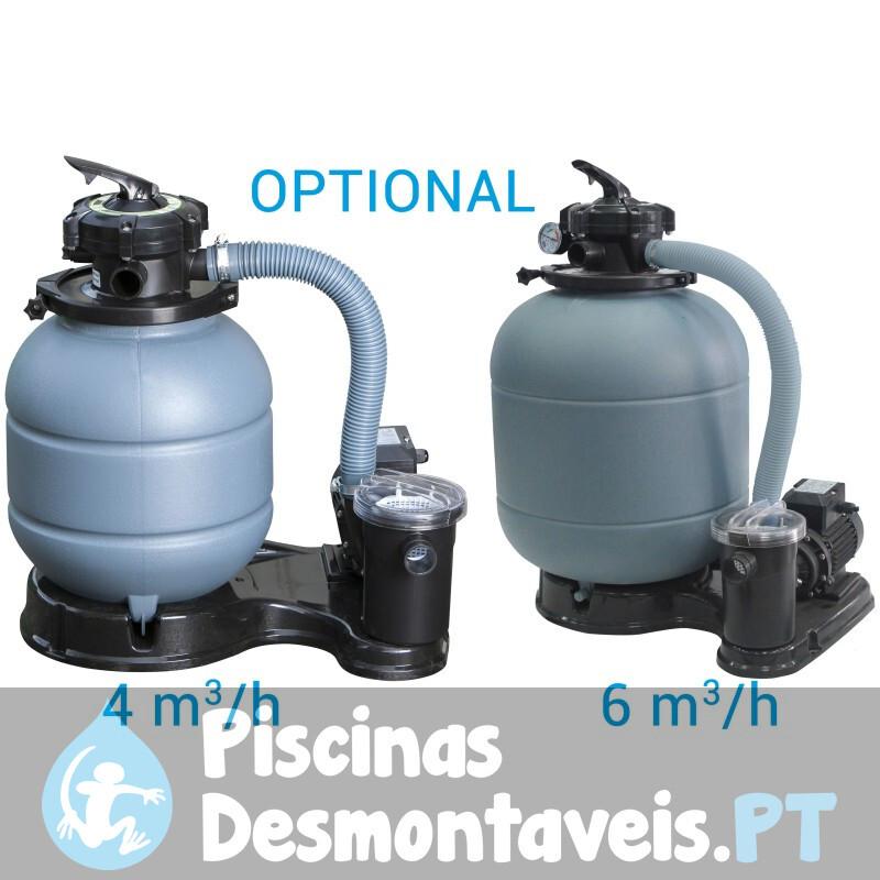 Piscina Gre Granada 350x132 KITPR358GF