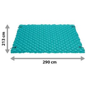 Cama regulável elástica de alumínio