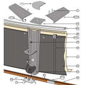 Piscina Insuflável Transparente 185x180x53 Intex 56495