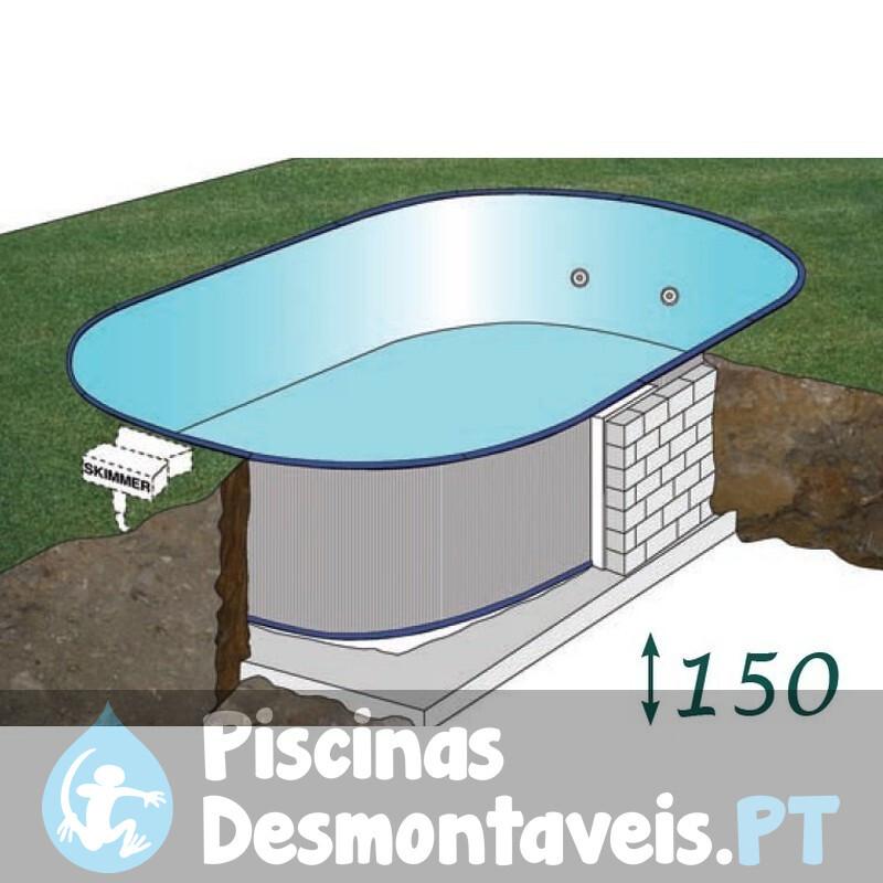 Piscina Gre Sunbay Safrán 637x412x133 790089