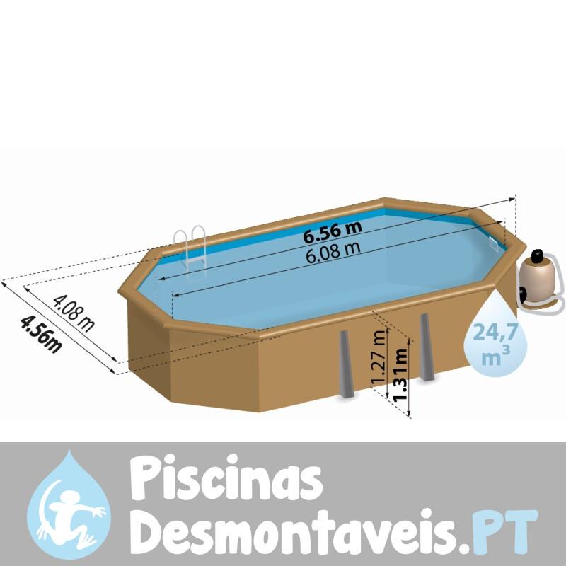 Piscina Enterrada StarPool 550x150 PE5559