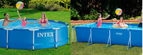 Piscinas Intex Metal Frame