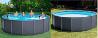 Piscinas Intex Graphite Grey Panel