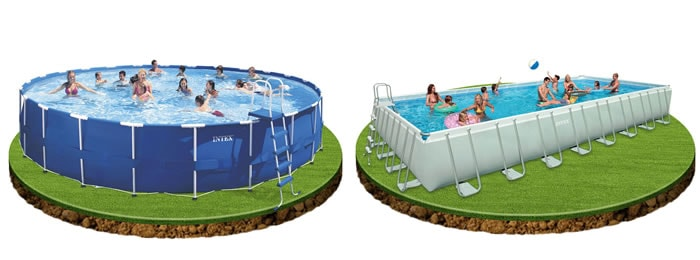 Piscinas intex for Aki piscinas